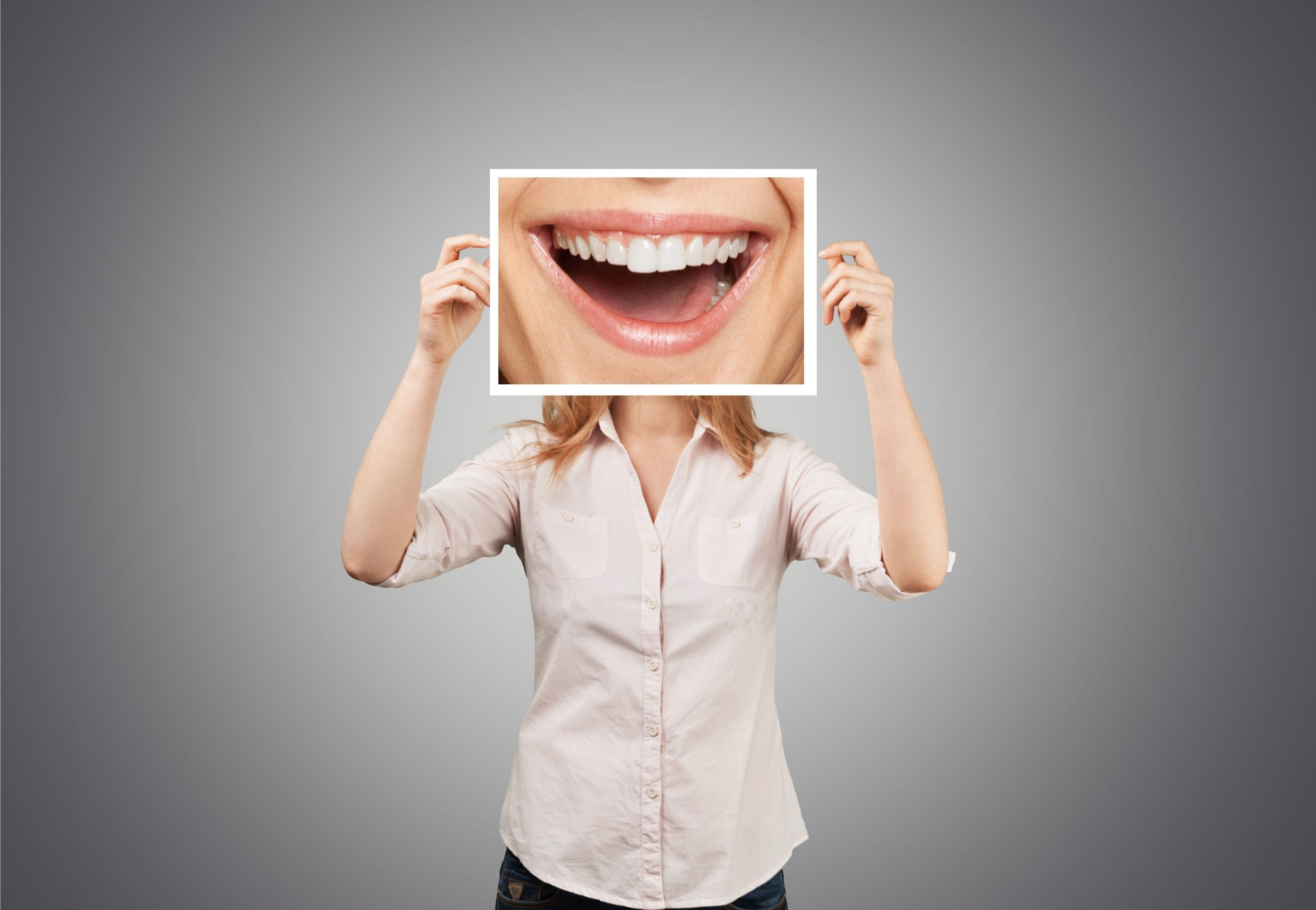 Dentist, smile, joy.